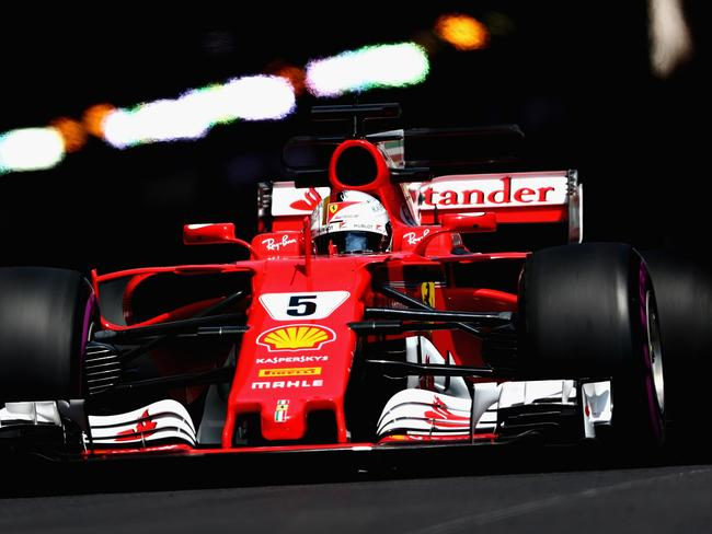 Vettel sets the pace in Practice 2 for Monaco GP