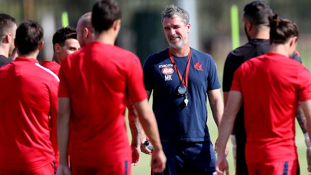Adelaide United Picture: Adelaide United Coach Marco Kurz Keen To Build On Reds