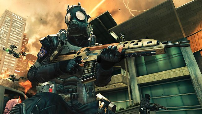 "Activision's highly anticipated Call of Duty: Black Ops II"" is set in the year 2525."