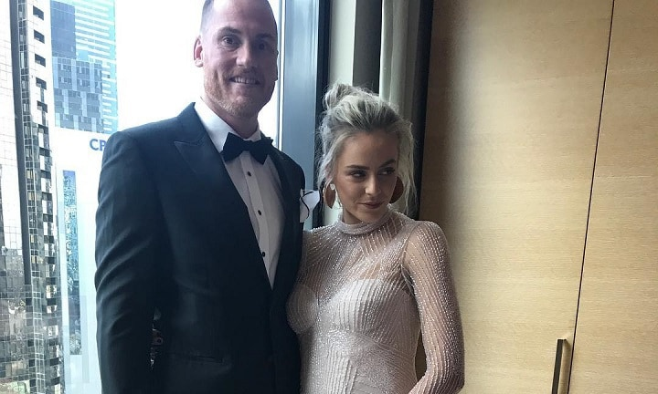 Baby news for one of AFL's favourite couples