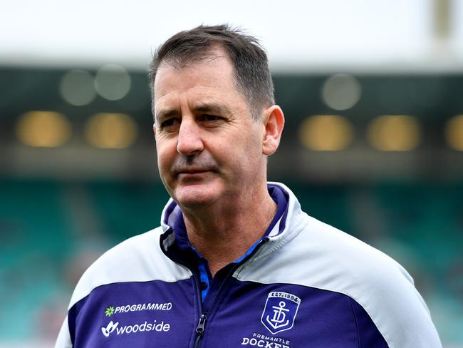 Dockers coach Ross Lyon had his biggest loss in his career today.