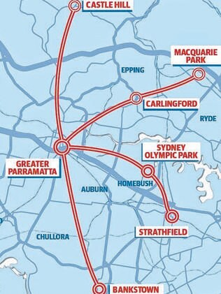 Powerful Corporate Syndicate Hatch Plan To Bankroll Light Rail Line From Parramatta Sydney Olympic Park