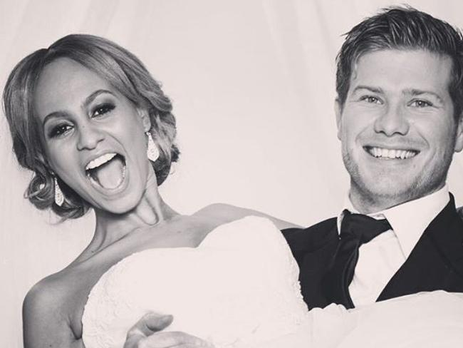 Married at First Sight's Zoe Hendrix and Alex Garner. Picture: Instagram