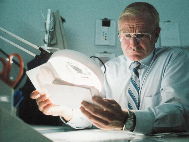 Robin Williams in a scene from the 2003 film 'One Hour Photo'. Picture: Supplied