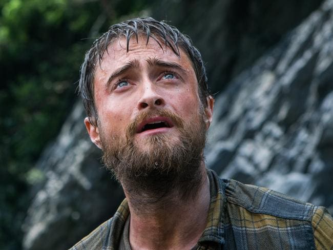 Daniel Radcliffe in a scene from his new movie,  <i>Jungle</i>. Picture: Supplied