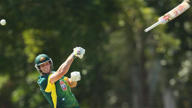 Mitch Marsh has thrown everything at the opposition.
