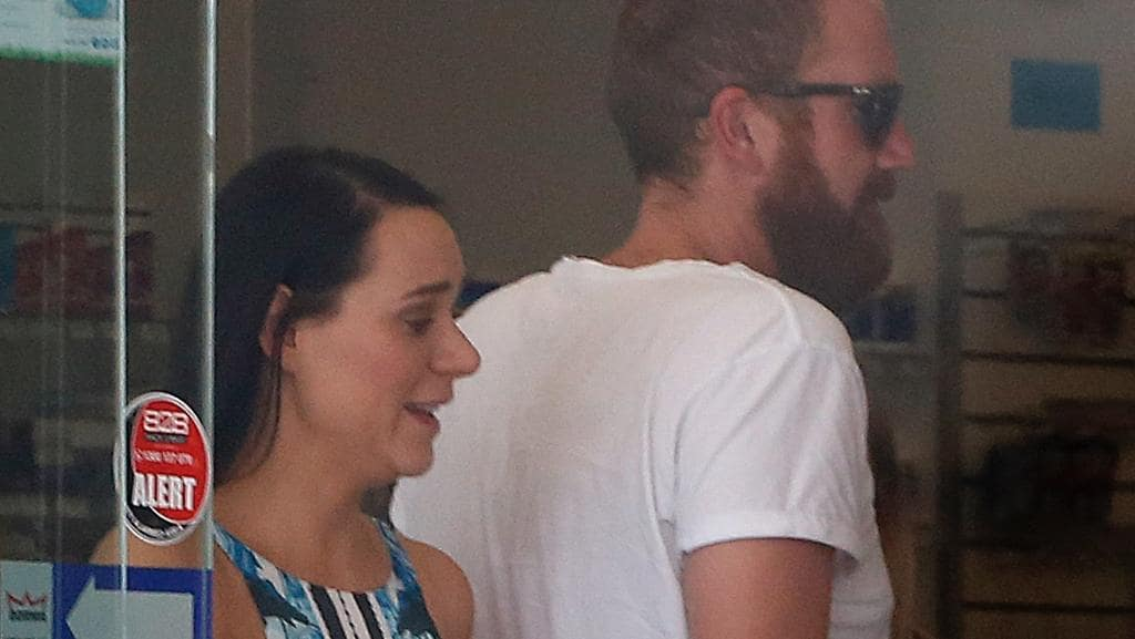 MKR contestants Tim and Amy have been spotted together in Brisbane  Picture  Mega