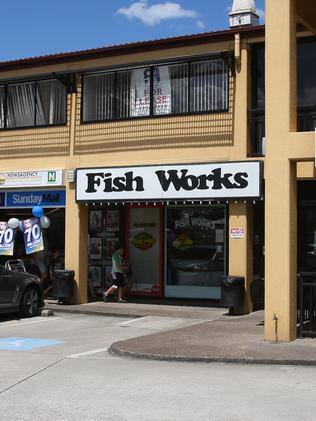 The fish-and-chip shop at Kedron where stabbing victim Qianqian 'Queenie' Xu's father works.