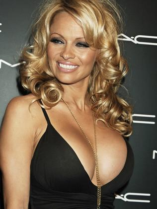 """Pamela Anderson finds Assange's courage """"sexy""""."""