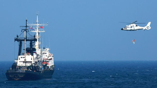 Security experts believe the Chinese government is spying on Australia's military activity.