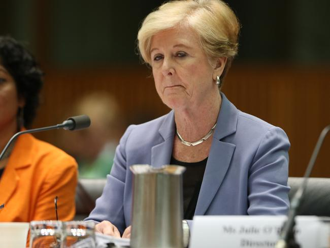 Gillian Triggs says she was shocked at a meeting where it was suggested she might leave her position. Picture: Gary Ramage
