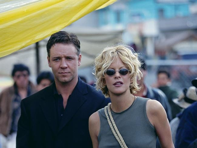 Wedding rumour ... Russell Crowe fired Paul Bennett after he leaked a story that the actor was set to marry his Proof of Life co-star Meg Ryan back in 2003.