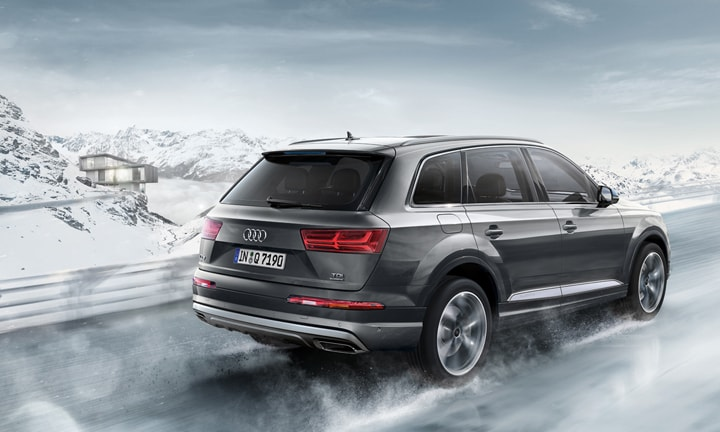 <b>AUDI Q7 from $96,855</b>  <p>If you're into cars, then the Q7 is most likely at the top of your seven-seater dream list. It packs in the style, comfort, handling and cred. The interior is the roomiest I've seen, with the back third row seats comfortably seating adults and well as kids. All of the seats fold down with a flick of a switch and can be folded in various combinations. This car drives beautifully, being easy to handle and smooth on the road. It has all the bells and whistles – which you would expect for the eye-watering price.</p>  <p>I've had this car since the beginning of the year. It was a luxury purchase that we penny pinched in order to afford. Now that I've experienced the Q7, I can never go back!</p>