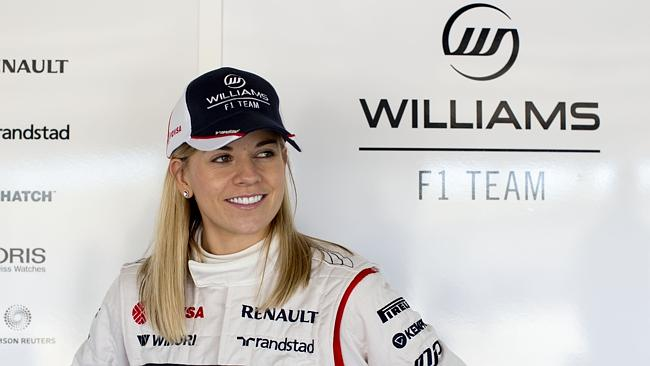 Susie Wolff will become the first woman in 22 years to compete in a Formula One event.