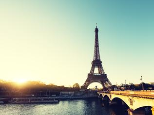 Sunrise In Paris