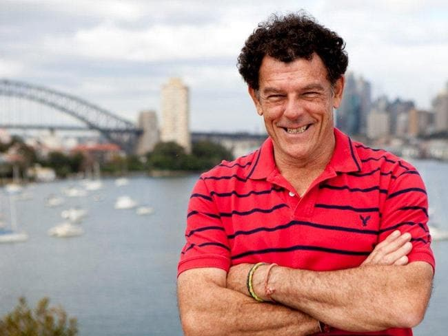 One of the best jobs in TV ... Mike Whitney, host of Channel Seven's Sydney Weekender.