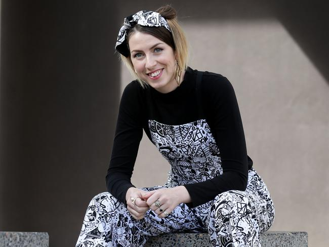 Evie Willsteed hopes to push the boundaries with her ungendered designs. Picture: Mark Calleja/AAP