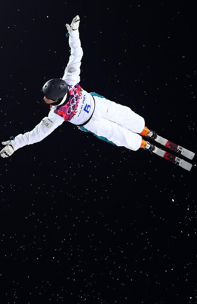 Soaring: Australia's latest Olympic medallist, David Morris. Picture: Getty Images