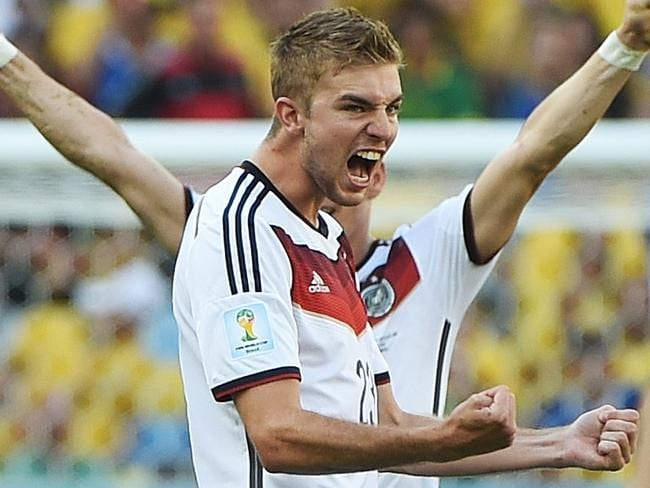 Young German midfielder Christoph Kramer.