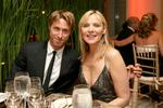 <p>Awards ceremony host Kim Cattrall and her boyfriend, Canadian chef Alan Wyse.</p>