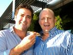 Confidential. Garry Lyon and Billy Brownless at the Southern Cross Austereo launch in South Melbourne.
