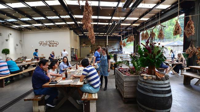 Red Gum BBQ in Red Hill. Picture: Nicki Connolly