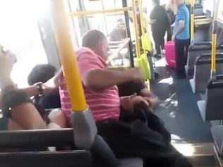Man held over brutal bus bashing
