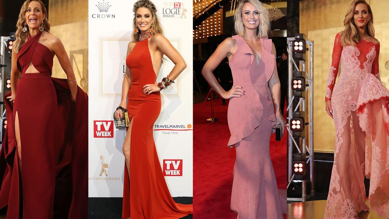 Red dress red carpet designers