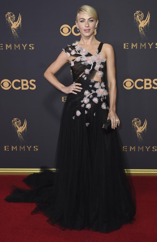 Julianne Hough attends the 69th Annual Primetime Emmy Awards at Microsoft Theater on September 17, 2017 in Los Angeles. Picture: AP