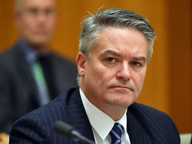 Finance Minister Mathias Cormann has called on the Opposition leader to clarify whether his office was behind the leak. Picture: AAP Image/Mick Tsikas