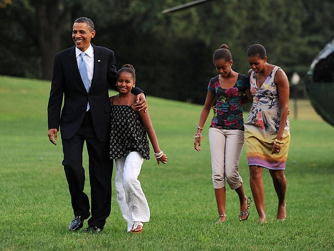 Growing up in the White House