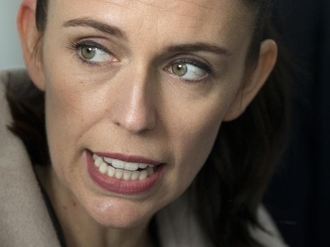 FILE - In this Aug. 16, 2017 file photo, New Zealand Labour Party leader Jacinda Ardern during a visit to Addington School in Christchurch, New Zealand. Ardern, 37, will be New Zealand's next prime minister after a small political party chose to make a deal with liberals following the nation's election nearly a month ago. (AP Photo/Mark Baker, File)
