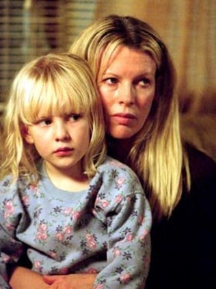 Basinger played his mother, with Greenfield as his sister.