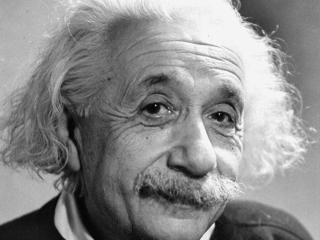 Physicist Albert Einstein (1879 - 1955) developed the world's most famous equation. Picture: Fred Stein Archive/Archive Photos/Getty Images