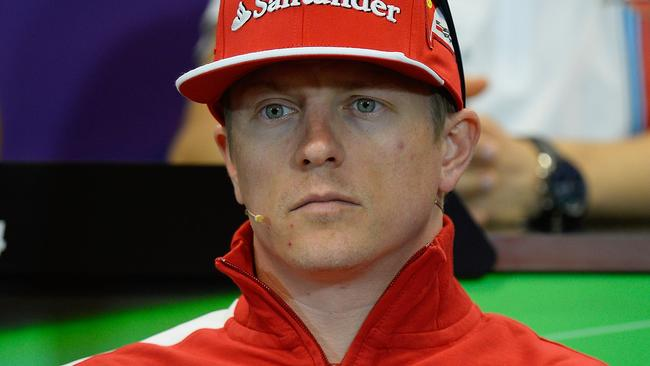 Raikkonen has so far yet to beat Alonso in a race.