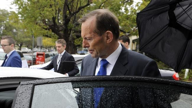 Petty ... Prime Minister Tony Abbott said those who refused to meet with him were foolish. Picture: Craig Wilson