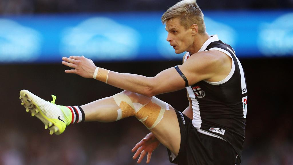 Nick Riewoldt has called time on his decorated career. Picture: Michael Klein