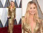 Margot Robbie attends the 88th Annual Academy Awards. Picture: Getty