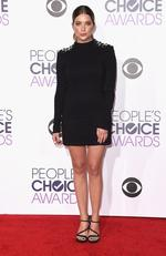Ashley Benson attends the People's Choice Awards 2016. Picture: Jason Merritt/Getty Images/AFP