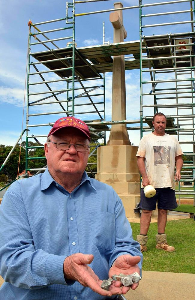 Vandals hit Perth War Cemetery