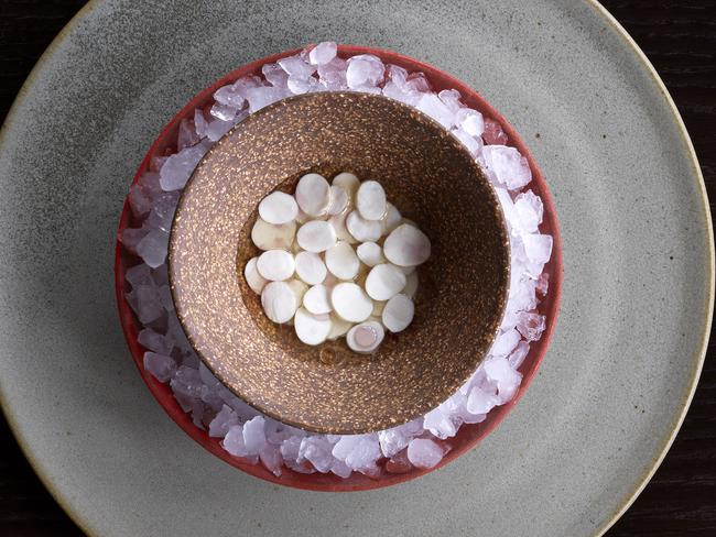One of Redzepi's finely crafted dishes at Noma.