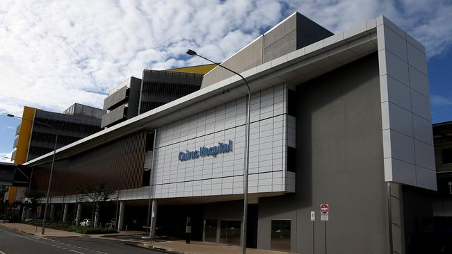 Cairns Hospital exterior photos. PICTURE: STEWART McLEAN