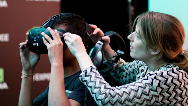 ACMI VR for the whole family. Kids can learn about the future of Virtual Reality.