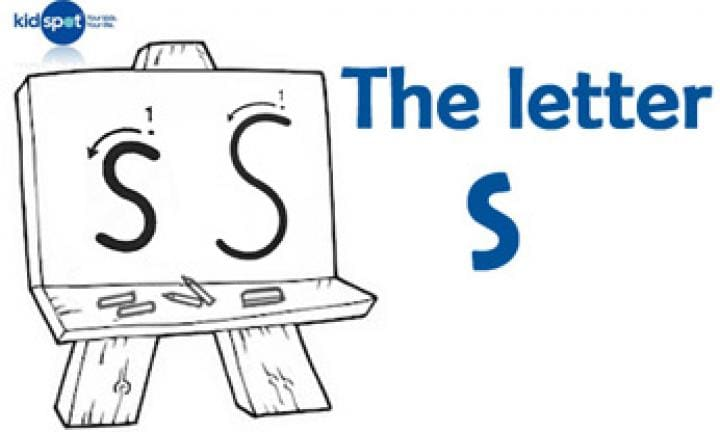 Handwriting: The letter s