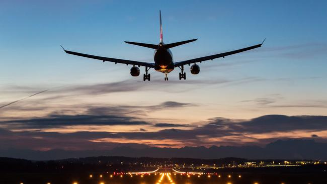Airlines are cutting down on fuel consumption, which is contributing to longer flight times.
