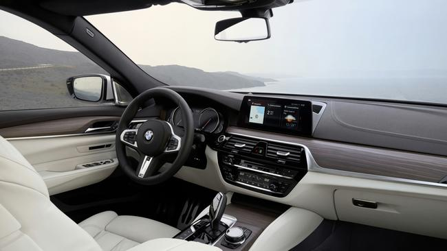 The cabin is more spacious than the 5 Series GT. Pic: Supplied.
