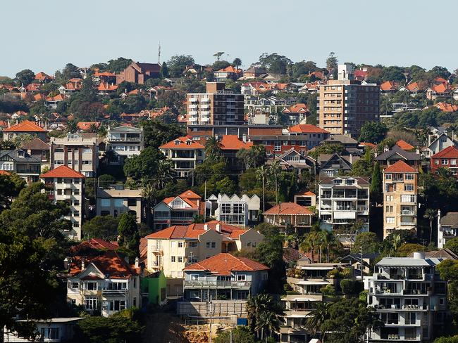 An RBA report says three-quarters of households would be better off without negative gearing. Picture: Brendon Thorne/Getty Images
