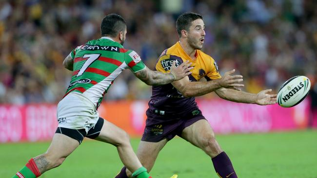Ben Hunt will have to be at his best if the Broncos are to beat the Rabbitohs. Pic Darren England.