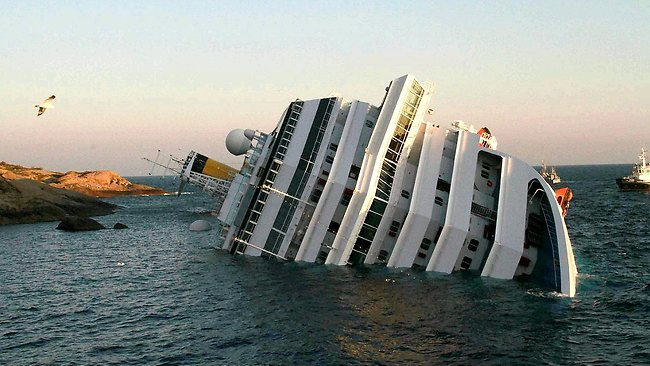 Timeline Of Italian Cruise Ship Costa Concordia Disaster