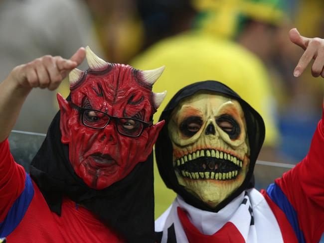 South Korea fans are freaking scary.